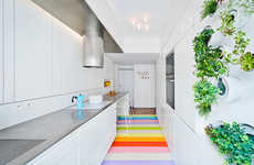 Modern Candy-Colored Lofts