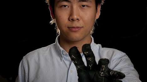 One-Handed Keyboard Gloves - These Smart Gloves Allow Wearers to Type Using Simple Finger Gestures