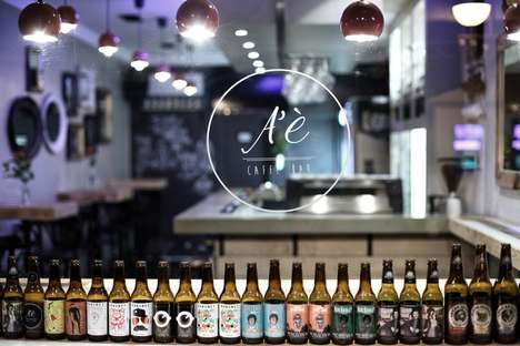 Craft Beer Cafes - Zagreb's A'e Caffe Bar Offers Local Craft Beers from Croatia