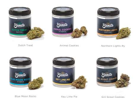 Mountainous Cannabis Branding - Elevate Cannabis Co is Recreational Brand Based in Washington State