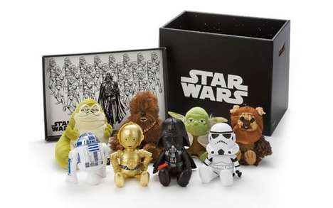 Limited-Edition Sci-Fi Toys - These Star Wars Plush Toys Awaken the Force of Cuteness