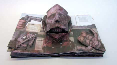 Zombie Pop-Up Books - This Walking Dead Book Features Three Dimensional Pop-Up Illustrations