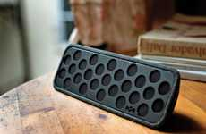 Recycled Plastic Speakers - The House of Marley Liberate BT Bluetooth Speaker is Sustainably Made