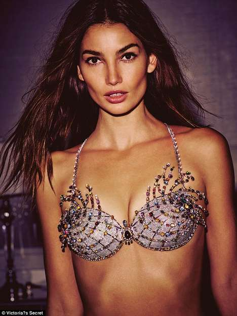 $2 Million Bedazzled Bras - The Fantasy Bra Promotes the Annual Victoria's Secret Fashion Show
