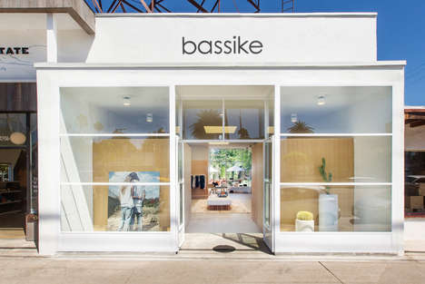 Seaside Organic Cotton Boutiques - Australian Brand Bassike Recently Opened a Store in Venice Beach