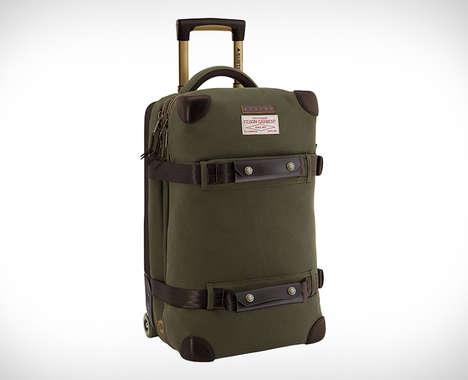 Rugged Outdoorsman Luggage