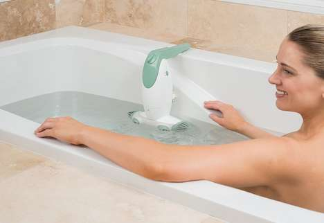 Bubbling Bathtub Add-Ons - The Dual Jet Bath Spa Makes Creating an At-Home Jacuzzi a Cinch