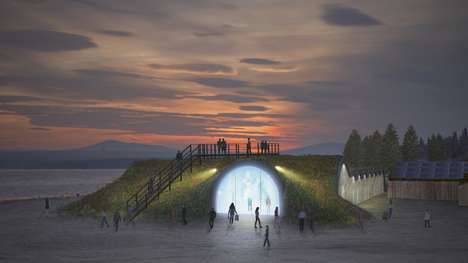 Solar-Powered Hotels - Sweden's Icehotel Site Will Be Adorned With a Solar-Powered Hotel