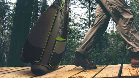 Gear-Hauling Trailers - The Trailpod Three-Wheel Roller Lets You Carry Your Gear Around