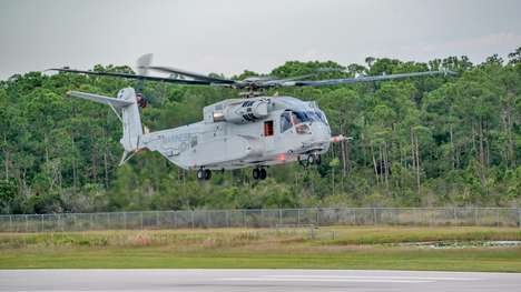 Humvee-Hauling Helicopters - The CH-53K King Stallion Can Carry a Hummer