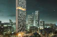 Micro-Living Towers - Collective Stratford Will Give Londoners Affordable Housing and Facilities