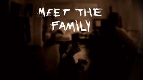 Creepy Familial VR Films - The 'Meet the Family' Film is a Creepy Virtual Reality Experience