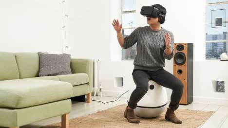 Virtual Reality Chairs - The VRgo Leaves Your Hands Free For Virtual Reality Activities and Gaming