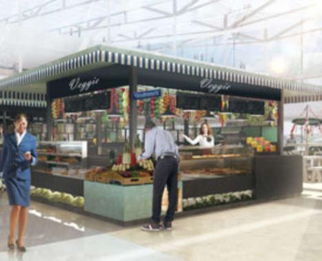 Airport Shopping Markets