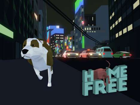 Rescue Dog Games - The 'Home Free' Game Was Inspired by a Real Rescue Dog