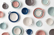 Space-Saving Dishware Sets - Nendo's Newest Dishware Set is Designed for Small Spaces