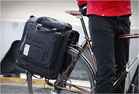 Bicycle Suit Bags - This Bag Fits a Suit, Shoes & Shower Gear for Bike Commuters to Bring to Work