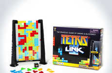 Analog Video Games - Tetris Link Lets You Challenge Friends and Family to an IRL Battle