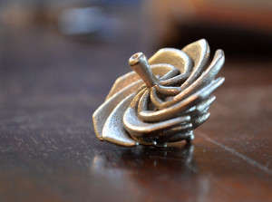 Tornado Spinning Tops - This Complex Toy Spinning Top Was 3D-Printed with Polished Nickel Steel