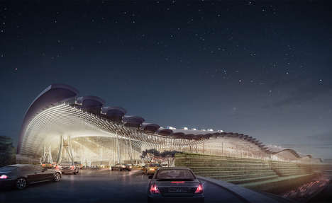 City-Inspired Airports - Taiwan's Yaoyuan Airport Will Be Renovated to Resemble a City Center