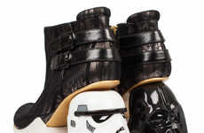 Sci-Fi Character Stilettos - These High Heels Pay Homage to Famous Star Wars Faces