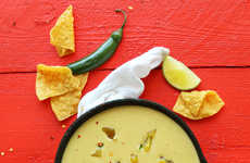 Spicy Vegan-Friendly Dips - This Green Chili Queso Uses Nutritional Yeast Instead of Cheese