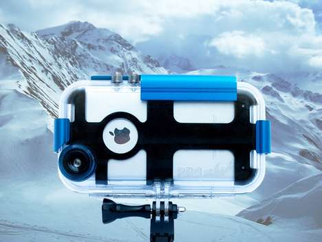 Adventurer Phone Cases - The ProShot iPhone Case Transforms Your Device into a GoPro-Like Camera