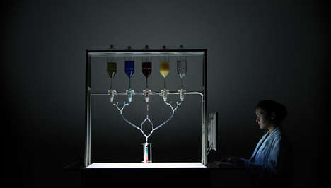 Social Data-Driven Drinks - This Robotic Bartender Uses Facebook Likes to Create Personalized Shots