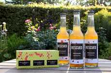 Repurposed Fruit Drinks - 'Rescued Fruit' Beverages are Made from Produce That Would to Go Waste