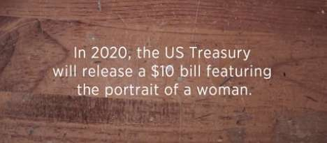 Realistic Gender Disparity Ads - This Ad Shows That Women on Currency is Only a Symbolic Change