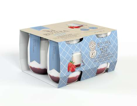 Artisanal Yogurt Pots - Laiterie Chalifoux' Simple Glass Pots Became an Instant Collector's Item