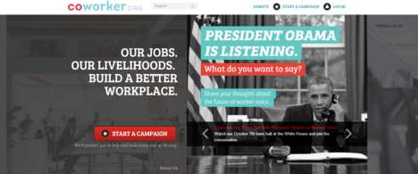 Workplace Advocacy Platforms - This Website Helps Workers Across Industries Organize