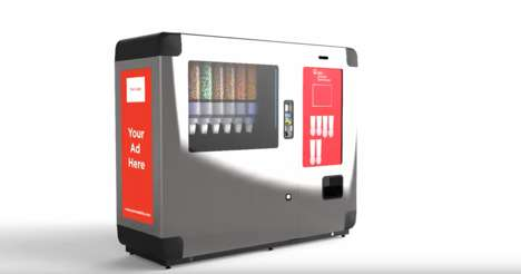 Interactive Candy Kiosks - BMC's 'Media Kiosk' Collects Data, Mobile Payments and More