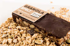 Superfood Granola Bars - These Healthy Granola Bars from 'Taart' are Made with Spelt & Goji Berries