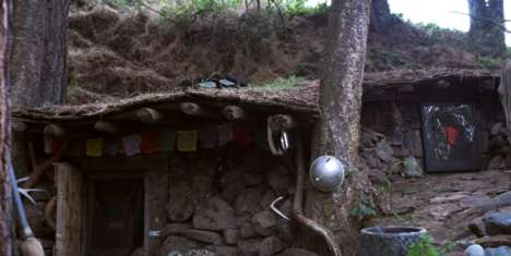 Sustainable Underground Dwellings - This Artist Lives in a Subterranean Home Beneath the Ground