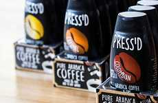 Squeezable Instant Coffees - The 'Press'd' Coffee Brand Make Genuine-Tasting Pure Coffee Concentrate
