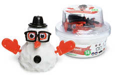 Snowman Sand Comes with Accessories and Requires No Snow