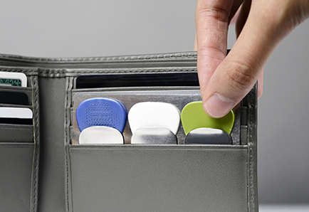 Guitar Pick Holders - The 'Pickpocket' is the Slimmest Guitar Pick Holder Yet