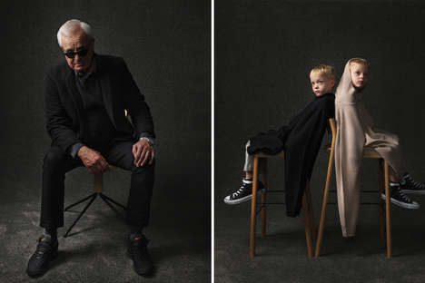 Generation Comparison Editorials - These Images Show Generational Differences Between Men and Boys