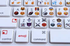 This Bluetooth Keyboard Allows Users to Type Emoji on Their Computers