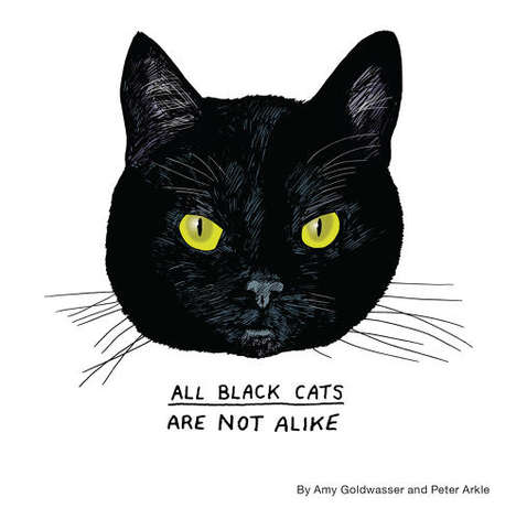 Quirky Cat Illustrations - Amy Goldwasser's Art Book Details How All Black Cats Differ