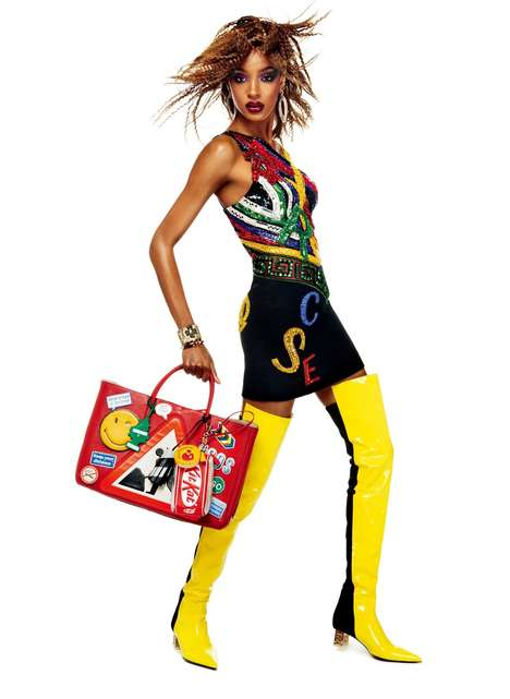 Opulent 80s Editorials - Vogue Japan's 'Get Into the Groove' Story is Vibrant and Fun