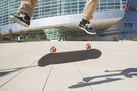 Kid-Friendly Skateboard Wheels - These Skater Trainers Help Beginners Learn Impressive Tricks