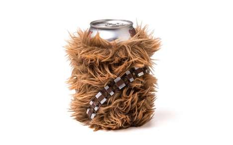 Sci-Fi Can Coolers - The Chewbacca Can Cooler is How Star Wars Fans Chill Their Beverages