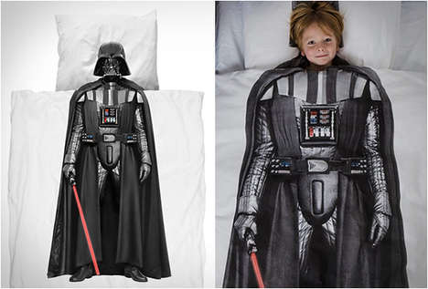 Intergalactic Duvet Covers - These Clever Star Wars Duvet Covers Give Users an Alternate Body