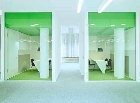 Vibrant Office Pods - This Groupon Office in Berlin Offers Both Private and Open Office Spaces