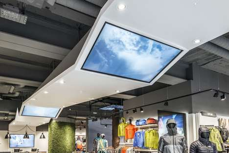 Outdoorsy Shopping Spaces - This 'North Face' Store Brings an Outdoor Retail Experience Indoors