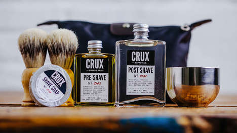 Vintage Shaving Kits - This Deluxe Shaving Kit Lets You Tend to Your Facial Hair in Style