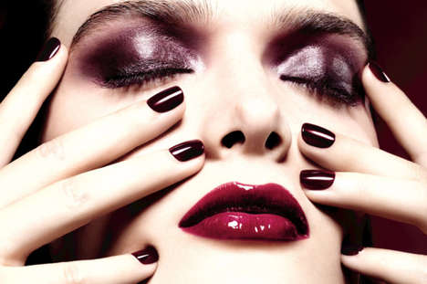 Vampy Holiday Makeup Collections - The 'Vamp Attitude' Line is Inspired by an Iconic Nail Polish