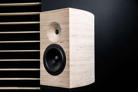 Symphony-Inspired Speakers - These Speakers Were Inspired by the Philharmonie De Paris Auditorium